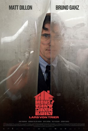 The House That Jack Built - Danish Movie Poster (thumbnail)