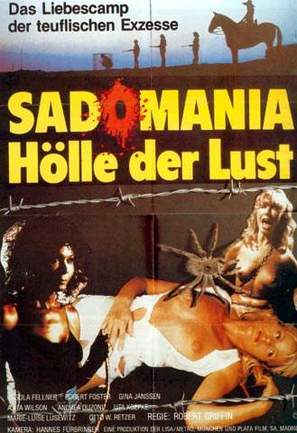 Sadomania - Hölle der Lust - German Movie Poster (thumbnail)