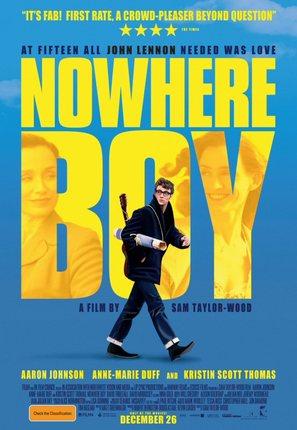 Nowhere Boy - Australian Movie Poster (thumbnail)