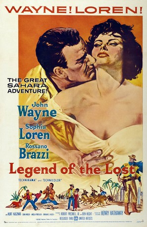 Legend of the Lost - Movie Poster (thumbnail)