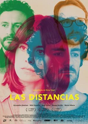 Les distàncies - Spanish Movie Poster (thumbnail)