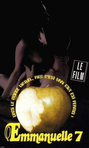 Emmanuelle au 7ème ciel - French VHS cover (thumbnail)