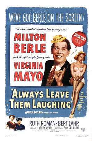 Always Leave Them Laughing - Movie Poster (thumbnail)