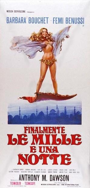 Finalmente... le mille e una notte - Italian Movie Poster (thumbnail)