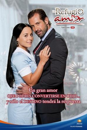 """""""Un refugio para el amor"""" - Mexican Movie Poster (thumbnail)"""