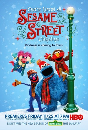 Once Upon a Sesame Street Christmas - Movie Poster (thumbnail)
