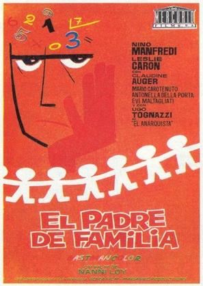 Il padre di famiglia - Spanish Movie Poster (thumbnail)