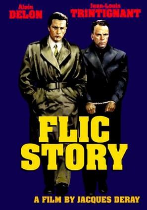 Flic Story - Movie Poster (thumbnail)