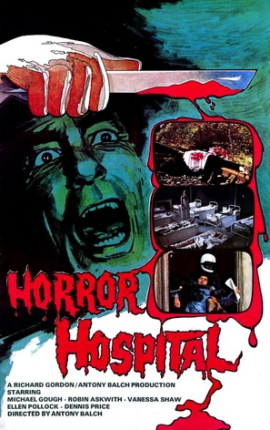 Horror Hospital - British Movie Poster (thumbnail)