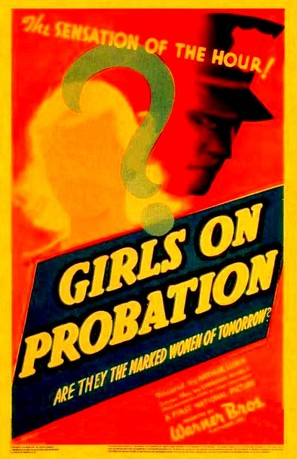 Girls on Probation - Theatrical movie poster (thumbnail)