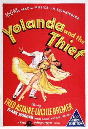 Yolanda and the Thief - Movie Poster (thumbnail)