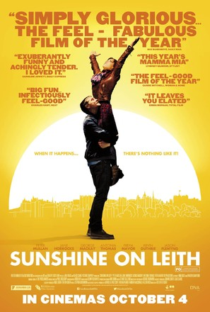 Sunshine on Leith - British Movie Poster (thumbnail)