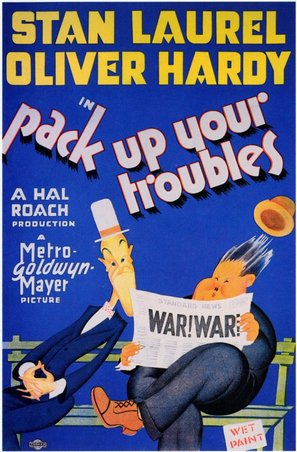 Pack Up Your Troubles - Movie Poster (thumbnail)