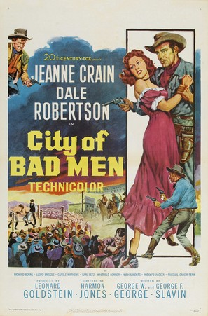 City of Bad Men - Movie Poster (thumbnail)