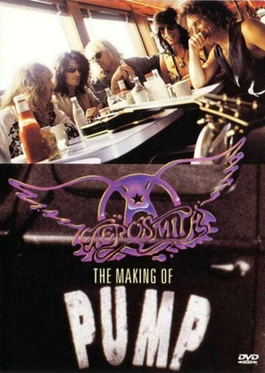 Aerosmith: The Making of Pump - DVD cover (thumbnail)