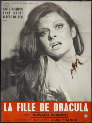 Fille de Dracula, La - French Movie Poster (thumbnail)