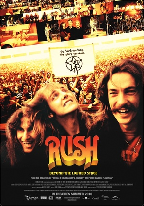 Rush: The Documentary - Canadian Movie Poster (thumbnail)