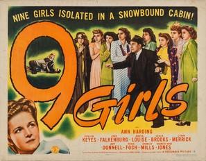 Nine Girls - Movie Poster (thumbnail)