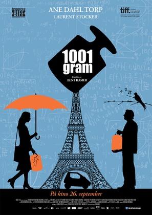 1001 Gram - Norwegian Movie Poster (thumbnail)