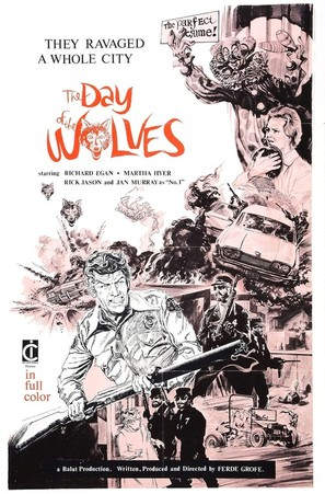 Day of the Wolves - Movie Poster (thumbnail)