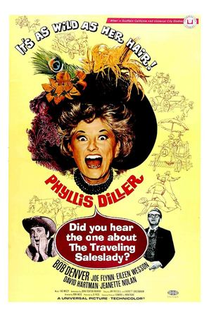 Did You Hear the One About the Traveling Saleslady? - Movie Poster (thumbnail)