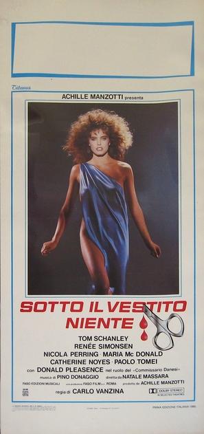 Sotto il vestito niente - Italian Movie Poster (thumbnail)