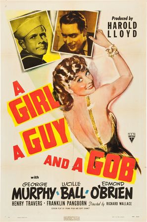 A Girl, a Guy, and a Gob - Movie Poster (thumbnail)