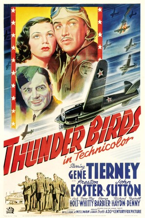 Thunder Birds - Movie Poster (thumbnail)