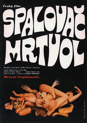 Spalovac mrtvol - Czech Movie Poster (thumbnail)