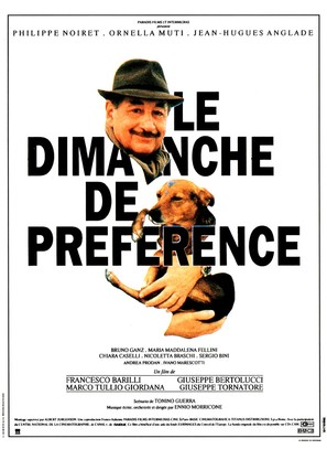 Domenica specialmente, La - French Movie Poster (thumbnail)
