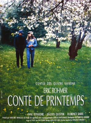Conte de printemps - French Movie Poster (thumbnail)