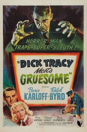 Dick Tracy Meets Gruesome - Movie Poster (thumbnail)