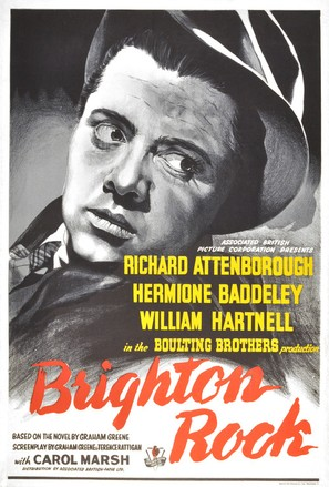 Image result for Brighton Rock (1948) Poster
