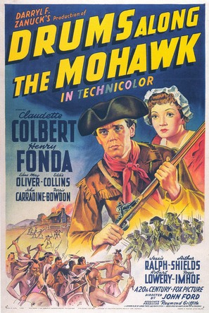Drums Along the Mohawk - Movie Poster (thumbnail)