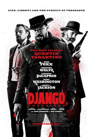 Django Unchained - Theatrical movie poster (thumbnail)