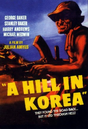 A Hill in Korea - British Movie Poster (thumbnail)