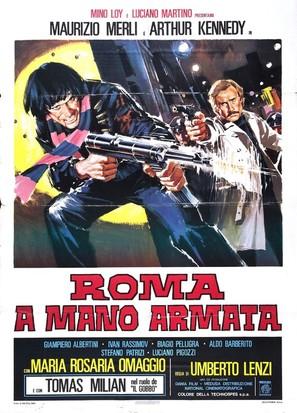 Roma a mano armata - Italian Movie Poster (thumbnail)