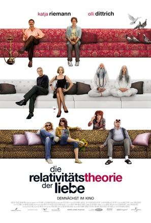 Die Relativitätstheorie der Liebe - German Movie Poster (thumbnail)