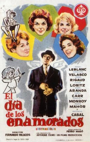 El día de los enamorados - Spanish Movie Poster (thumbnail)