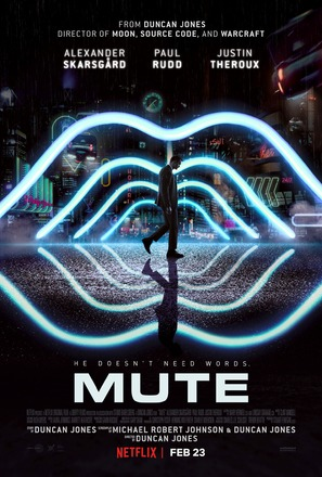 Mute - Movie Poster (thumbnail)