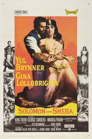 Solomon and Sheba - Theatrical poster (thumbnail)