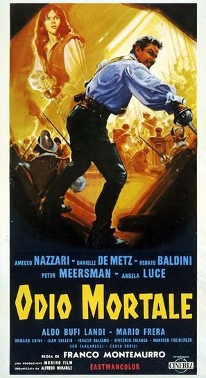 Odio mortale - Italian Movie Poster (thumbnail)