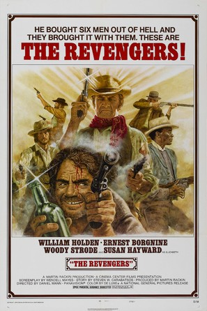 The Revengers - Movie Poster (thumbnail)