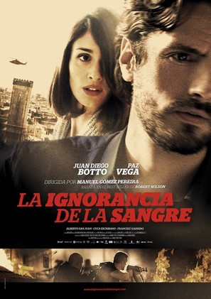 La ignorancia de la sangre - Spanish Movie Poster (thumbnail)