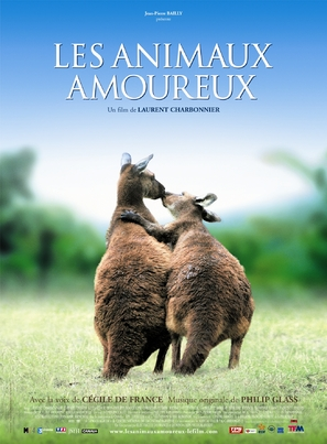 Les animaux amoureux - French Movie Poster (thumbnail)