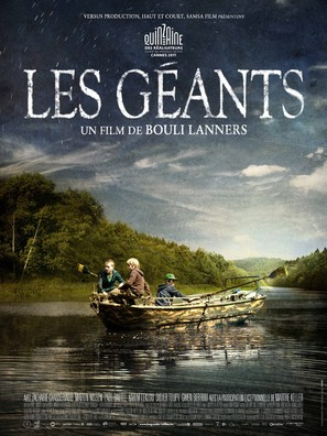 Les géants - French Movie Poster (thumbnail)