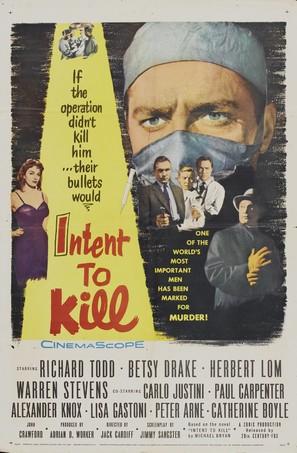 Intent to Kill - Movie Poster (thumbnail)