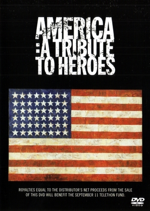 America: A Tribute to Heroes - DVD movie cover (thumbnail)