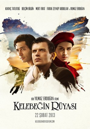 Kelebegin ruyasi - Turkish Movie Poster (thumbnail)