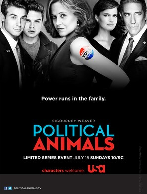 """""""Political Animals"""" - Movie Poster (thumbnail)"""